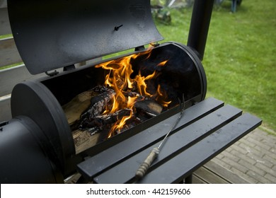 Preparation for grilling outdoor