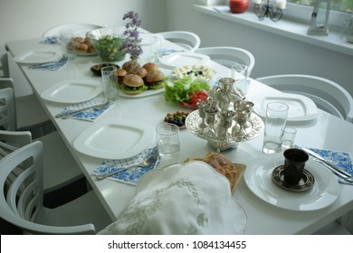 Preparation for Shabbat and table setting