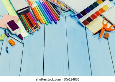 Preparations for the new academic year, stationery