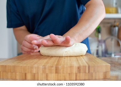 Prepare or making dough for cooking by hand