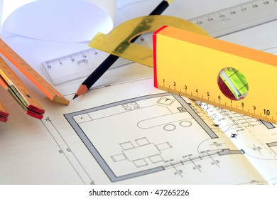 prepare a plan for drawing and architecture & construction tools