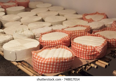Preparing cheeses