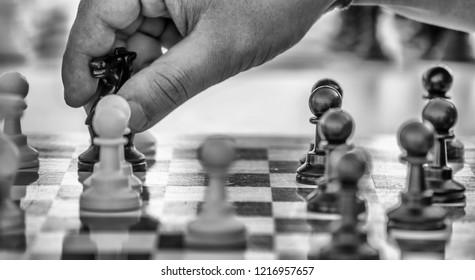 preparing the decisive move