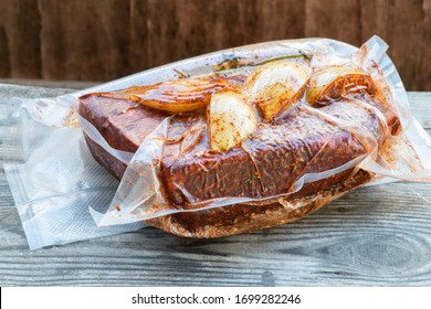 Preparing Delicious tender, juicy chunks of beef Using the Sous Vide Method