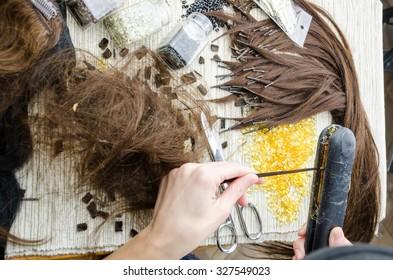 Preparing hair for upgrade