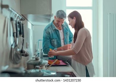 preparing meal and eat together