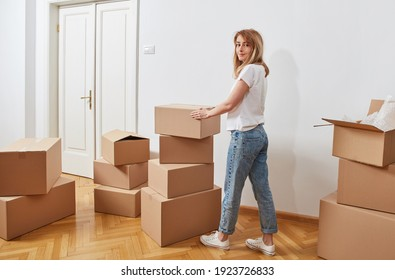 Preparing to move out concept