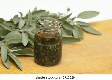 Preparing organic medicinal  oil
