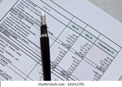 prepartion of financial statements