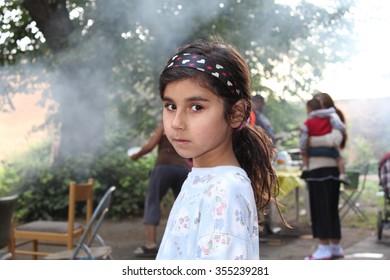 Roma Children Images, Stock Photos & Vectors   Shutterstock