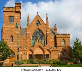 Presbyterian Church in Salt Lake City, Utah, USA. The church is a place of worship