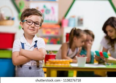 Sınıfta Okul Öncesi Öğrenci