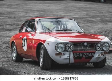 Prescott-united kingdom-06may 2018 Alfa romeo GTA