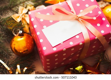 Present Christmas Gift Surprise Holiday Love Xmas Winter December Concept