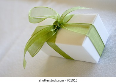 Present with Green Bow