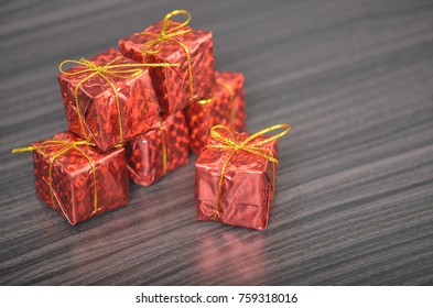 a present as a part of Christmas celebration
