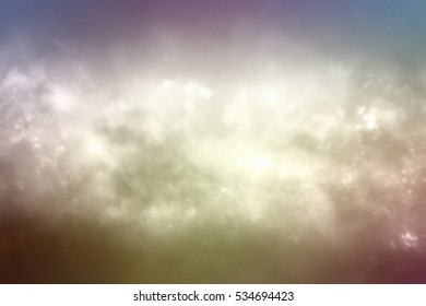 Presentation Background. Abstract colorful particles.