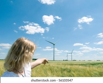 Presentation a new wind farm