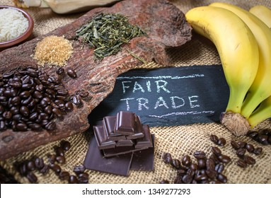 Presentation of organic fair trade products