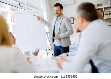 Presentation and training in business office