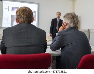 Presentation at university