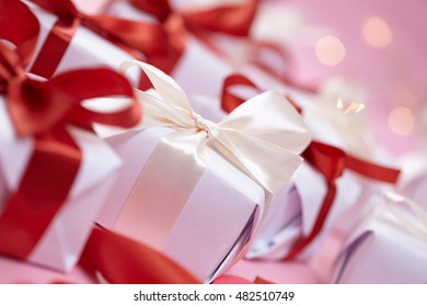 Presents Valentine Day Stock Photo Edit Now 607464128 Shutterstock
