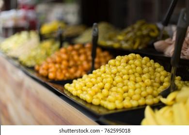 Preserve fruit in thailand