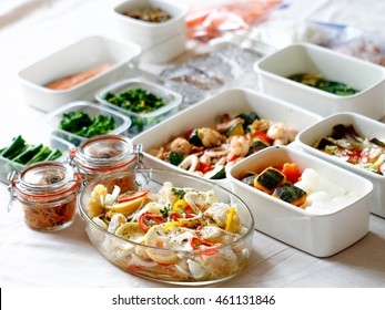 preserved food