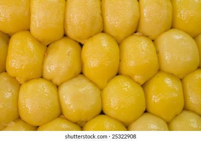 Preserved lemons in Mekness, Morocco