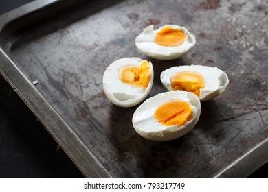 preserved Salted duck eggs - boiled eggs