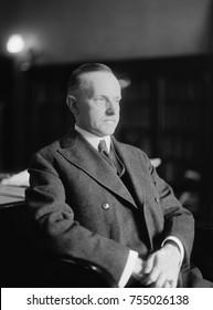 President Calvin Coolidge, ca. 1923-1928.