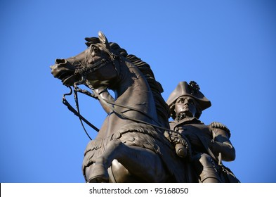 President and General George Washington Monument at Richmond, Virginia