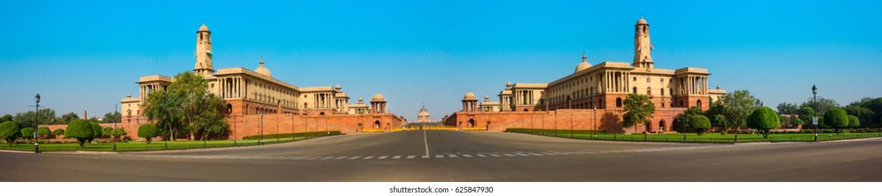 President House Panorama, New Delhi, India