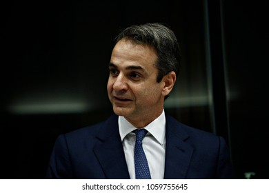President of New Democracy, Kyriakos Mitsotakis 