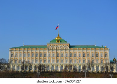 President Palace in Moscow Kremlin, Russia