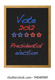 Presidential election 2012.