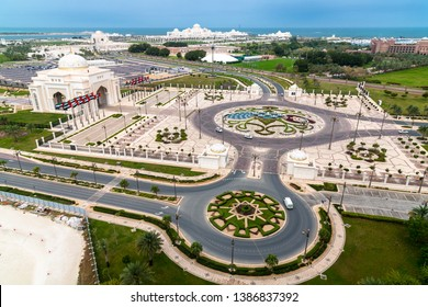 Presidential Palace in the emirate of Abu Dhabi, UAE