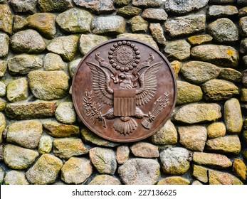 Presidential Seal at the JFK Memorial - Hyannis, MA