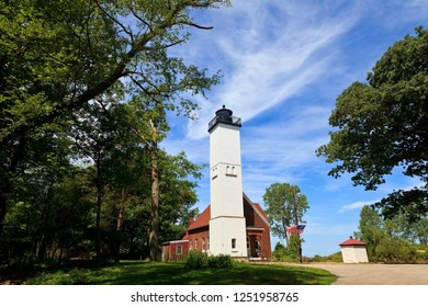 Presque Isle Light in the State Park at Erie, Pennsylvania
