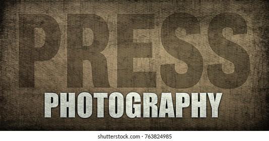 PRESS CARD PHOTOGRAPHER