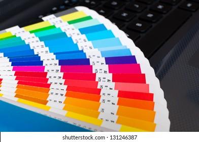 Press color management - cmyk palette