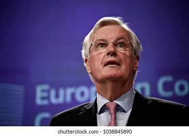 Press conference by Michel Barnier, Chief Negotiator and Head of the Taskforce of the EU Commission for the Preparation and Conduct of the Negotiations with the UK in Brussels, Belgium on May 3, 2017