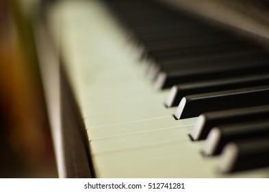 Press the keys of the piano
