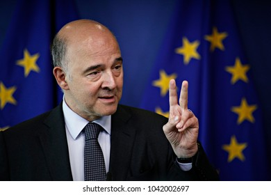 Press statement by Pierre Moscovici, Member of the European Commission in charge of Economic and Financial Affairs, Taxation and Customs in Brussels, Belgium on Jul. 12, 2017.