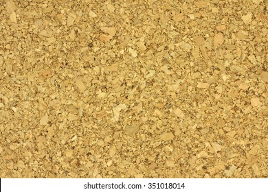 Pressed cork crumb abstract background