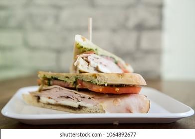 Pressed Sandwich on Cuban Bread