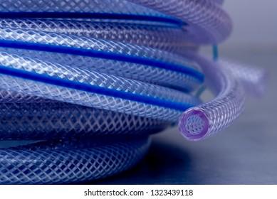 Pressure Braided Clear Flexible PVC Tubing Vinyl Hose