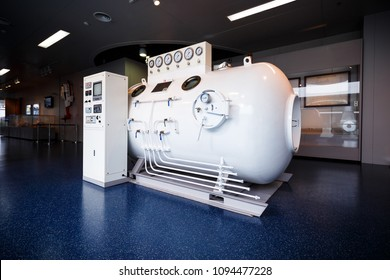 The Pressure chamber for marine diving