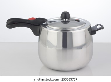 Pressure Cooker on white background