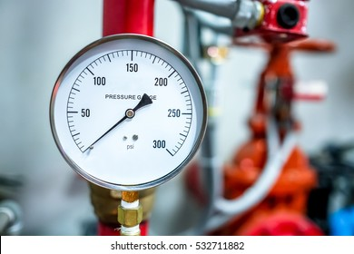 Water gauge images stock photos vectors shutterstock pressure gauge psi meter in pipe and valves of fire emergency system industry focus closeup middle thecheapjerseys Choice Image